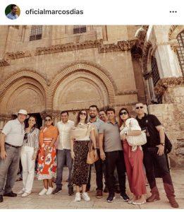 Governador Wilson Lima se diverte no final de semana com amigos em Israel