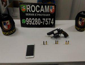 Adolescente é apreendido por porte ilegal de arma de fogo