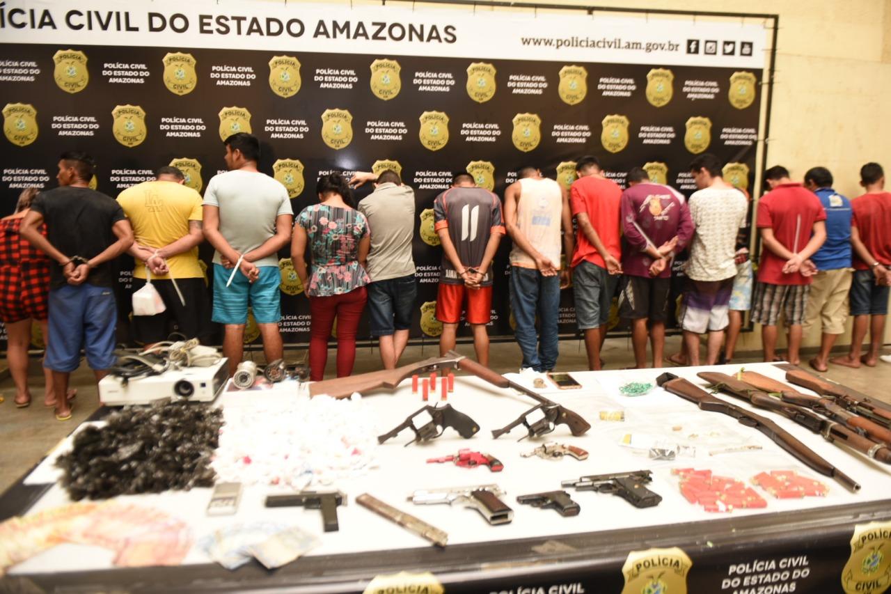 De janeiro à abril deste ano foram apreendidas mais de 700 armas em Manaus