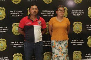 Casal ligado a FDN é preso suspeitos de liderarem tráfico em áreas de Manaus