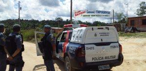 Polícia reforça patrulhamento em ocupação 'Cemitério dos Índios', no Nova Cidade