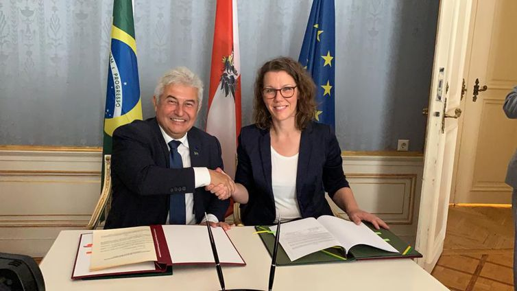 Brasil e Áustria firmam acordo de cooperação tecnológica