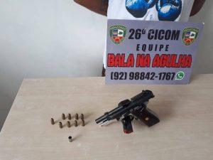 Estudante é baleada dentro de escola, na Zona Norte de Manaus