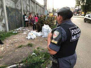 Cabeça humana é encontrada em lixeira no bairro Santo Agostinho, em Manaus