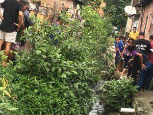 Homem é encontrado morto às margens de igarapé na Colônia Santo Antônio, em Manaus