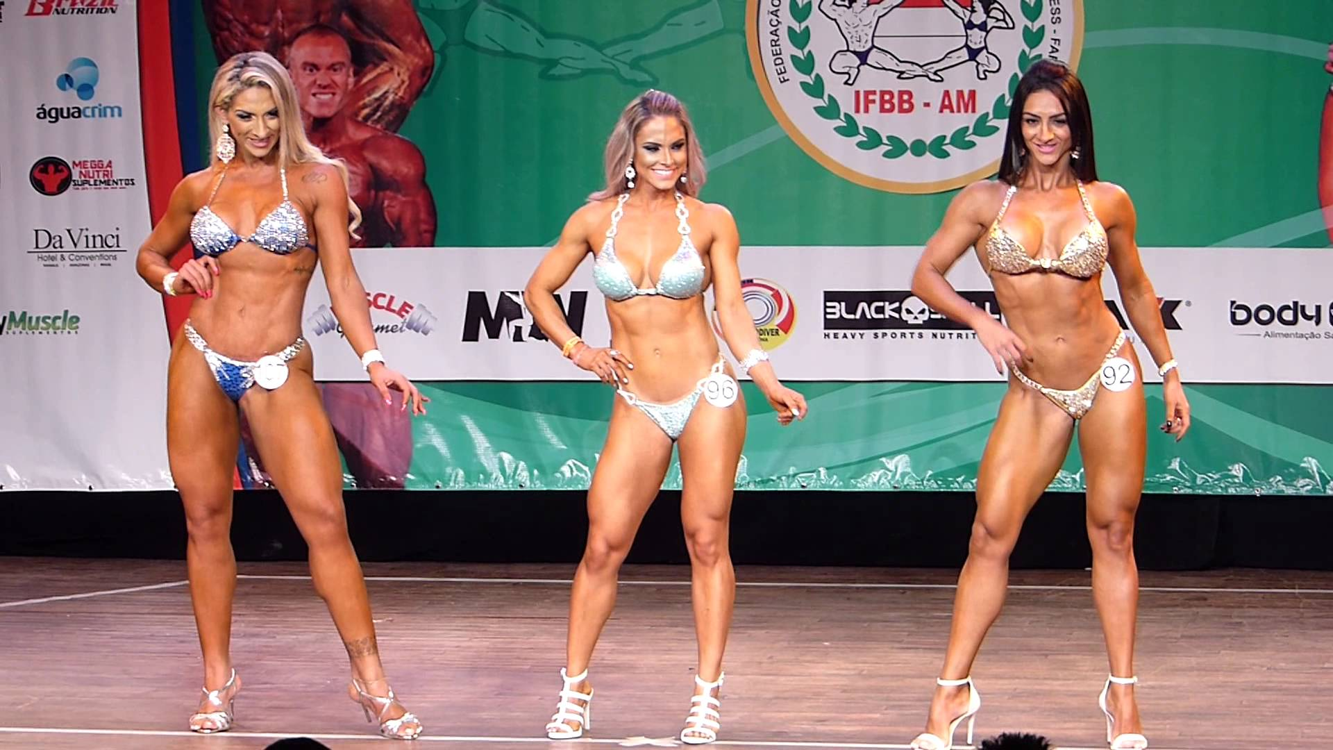 Campeonato de Fisiculturismo e Fitness acontece neste fim de semana em Manaus