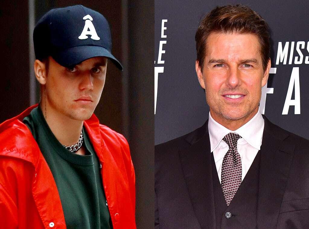 Justin Bieber desafia Tom Cruise para uma luta no estilo UFC