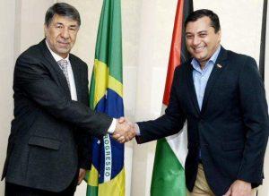 Governador Wilson Lima recebe embaixador do Estado da Palestina no Brasil