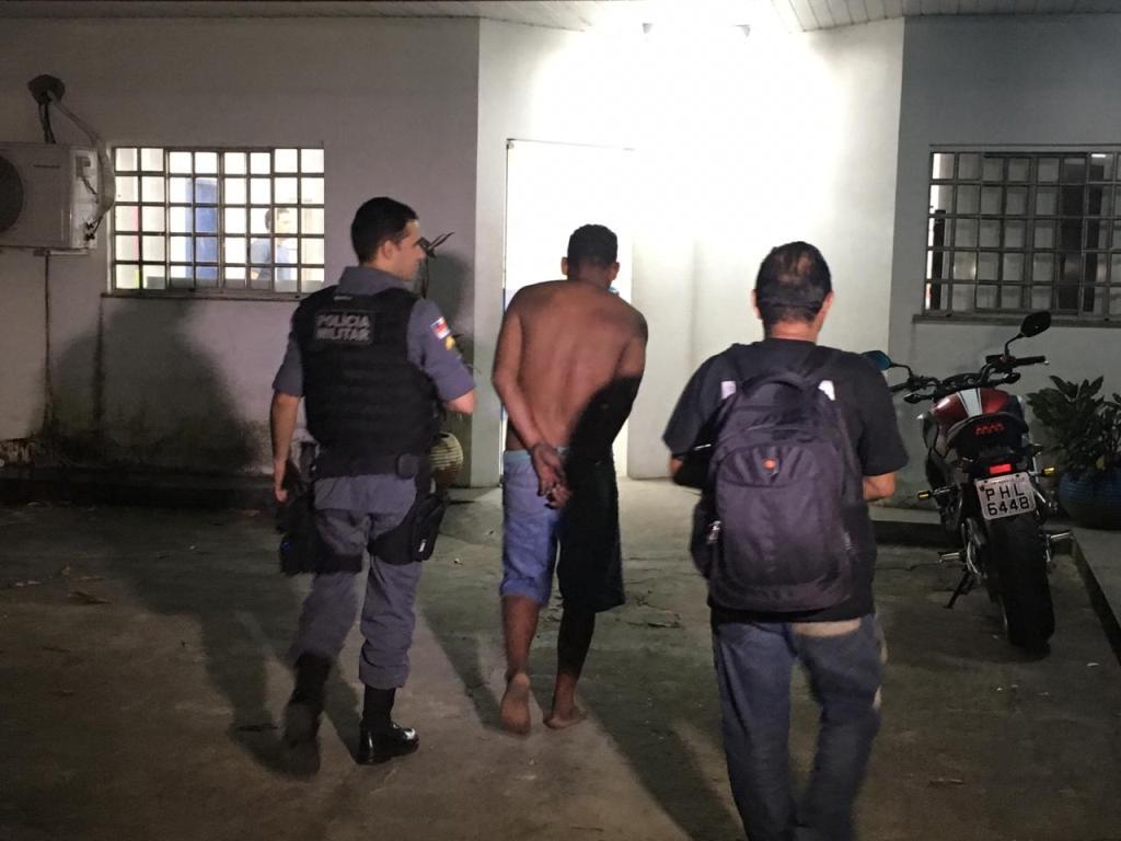 Homem é preso suspeito aliciar criança no Santo Antônio, em Manaus