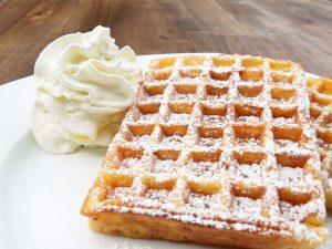 Waffle belga está entre as estrelas do cardápio do Arraial Chefs de Ponta