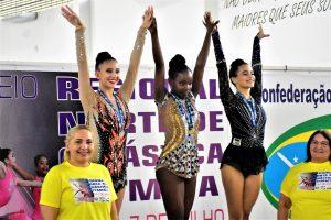 Com classificação de ginastas amazonenses para o Torneio Nacional, chega ao fim o Regional Norte de Ginástica Rítmica