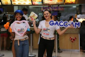 GACC-AM participa do McDia Feliz 2019