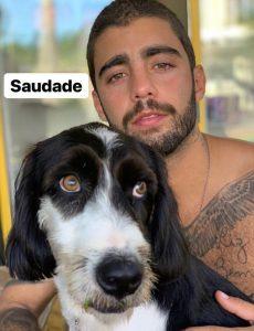 """Anitta compara cão com namorado: """"Cara do Pedro"""""""