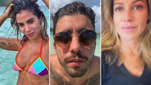 Pedro Scooby posta vídeo de filhos cantando Anitta e Piovani diz que ele 'emburreceu'