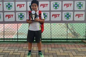 Tenista mirim amazonense conquista título internacional