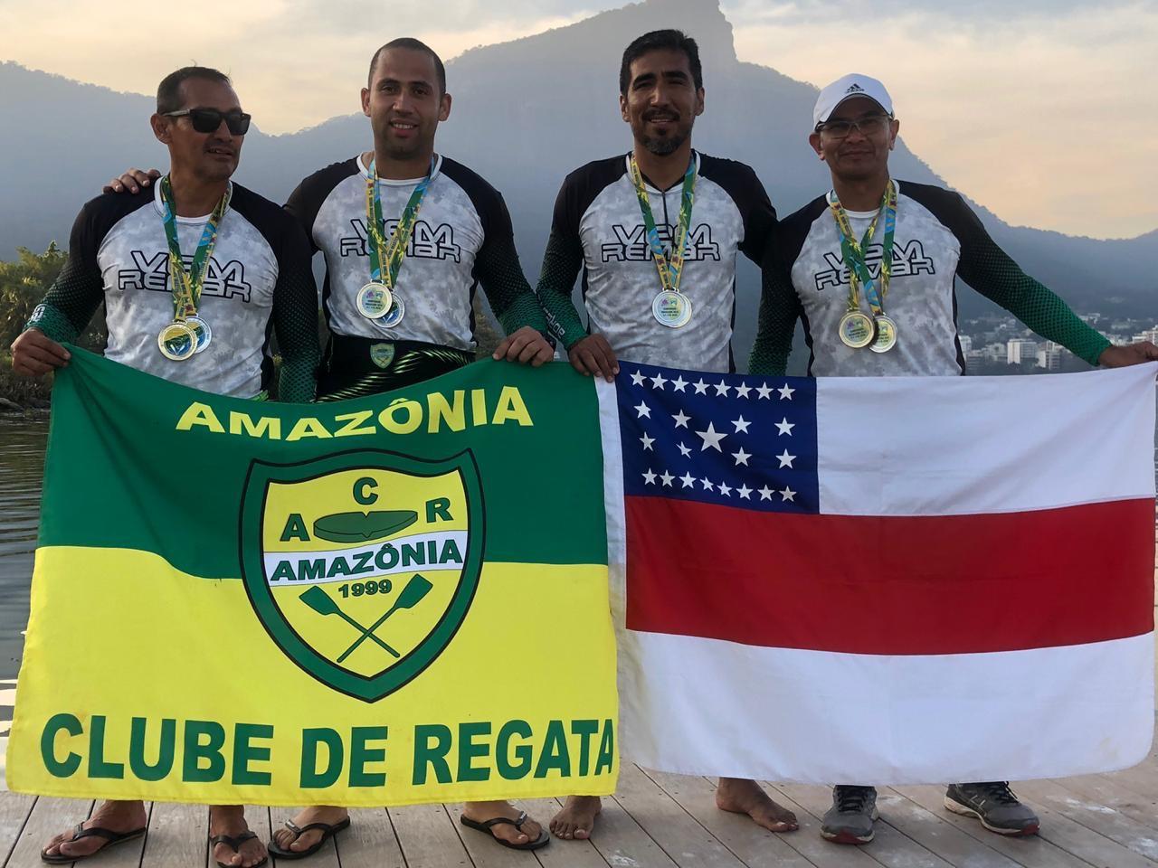 Subtenente do Corpo de Bombeiros conquista medalhas de ouro no Campeonato Brasileiro de Remo Olímpico