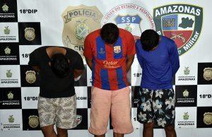 Trio especializado em aplicar golpes na venda de tijolos em Manaus é preso