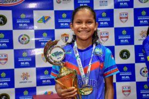Tênis de Mesa tem primeiro pódio nos Jogos Escolares do Amazonas