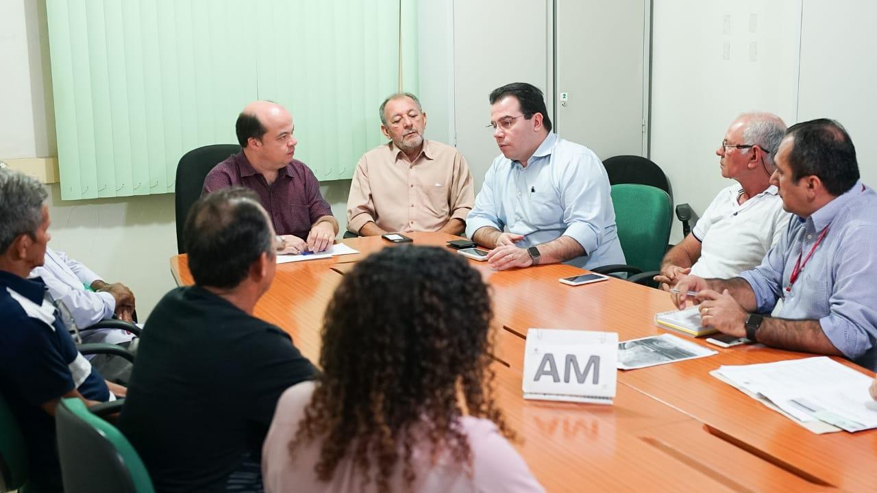 Em reunião no Incra, Wilker solicita apoio para recuperação de ramais de Presidente Figueiredo