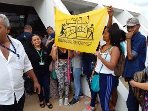 Servidores do Estados vão a Aleam para defender seus salários