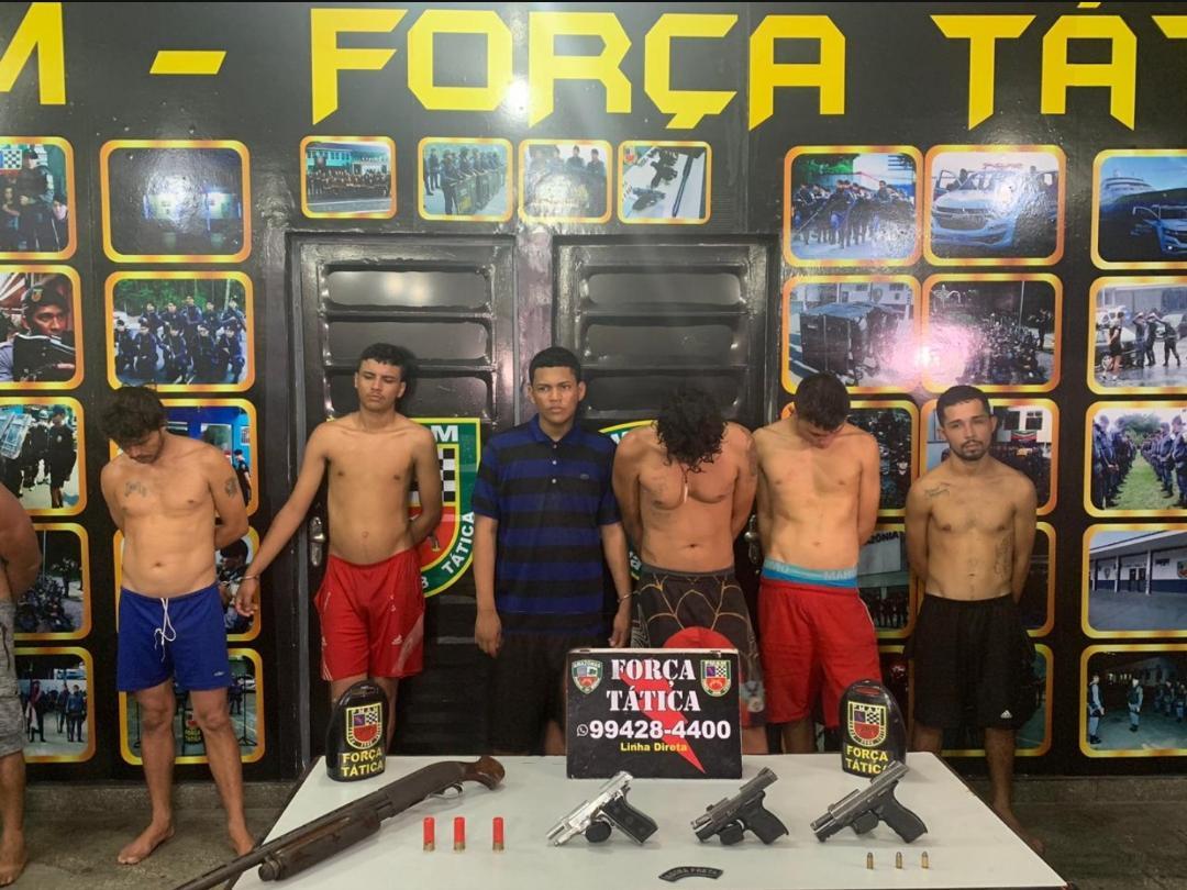 Doze membros de organização criminosa envolvidos em ataques a rivais são presos