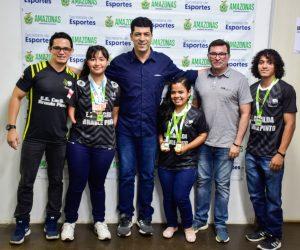 Parabadminton do Amazonas conquista seis medalhas em competição nacional