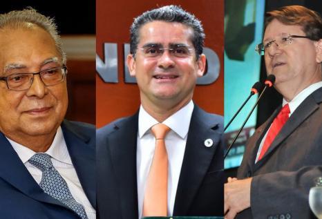 Amazonino aparece em pesquisa na frente de David Almeida e Zé Ricardo