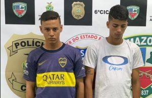Polícia Civil recupera celular roubado em via pública e prende jovens pela autoria do crime no bairro Cidade Nova