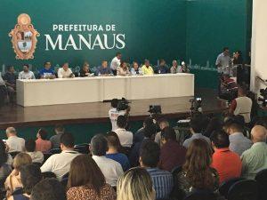 Prefeitura de Manaus lança pacote para revitalização de espaços na cidade