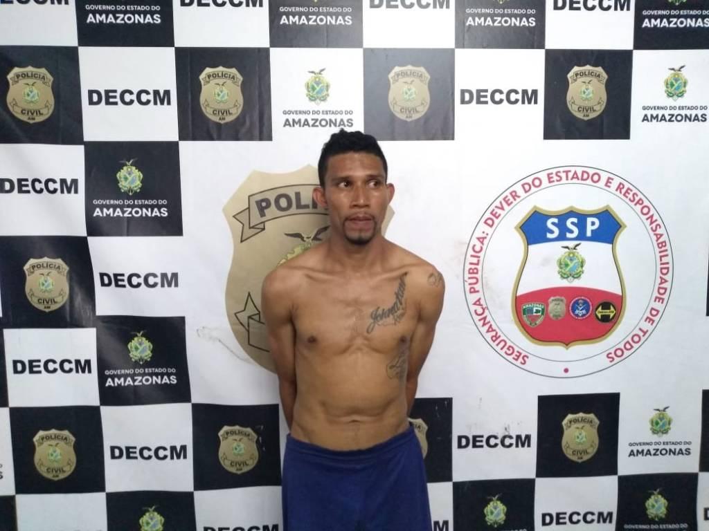 Homem é preso por esfaquear a própria irmã, na Zona Leste de Manaus