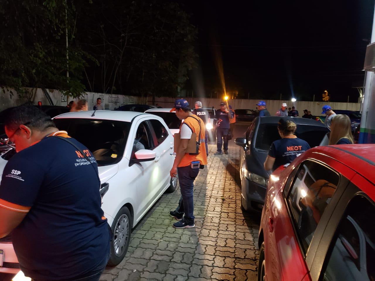 Lei seca flagrou 31 motoristas dirigindo sob o efeito de álcool no final de semana