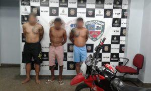 Em Manaus, PM prende 17 pessoas e apreende 12 armas de fogo e munições