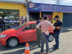 Cerca de 68 multas foram aplicadas em fiscalização realizada em bairros da zona Norte