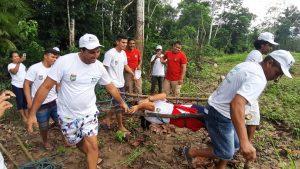 Moradores de unidades de conservação do AM participam de formação de brigadistas voluntários para combate a queimadas
