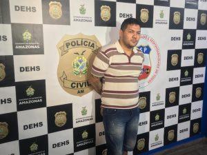 Foragido suspeito de assassinato é preso após sete anos, em Manaus