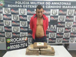 Homem é preso com drogas no porto de Manaus