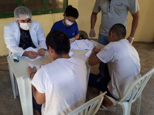 Seap realiza mutirão de saúde no Ipat