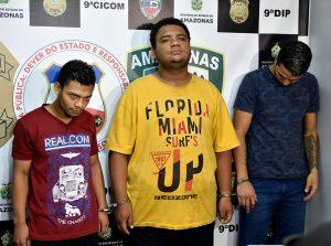 Trio é preso envolvido em tentativa de latrocínio ocorrida neste mês, no bairro São José Operário