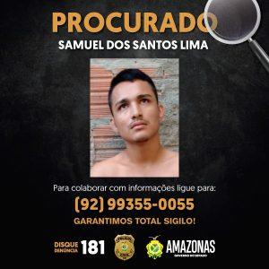 Polícia Civil pede o apoio da população para localizar jovem envolvido em tentativa de latrocínio no bairro São José