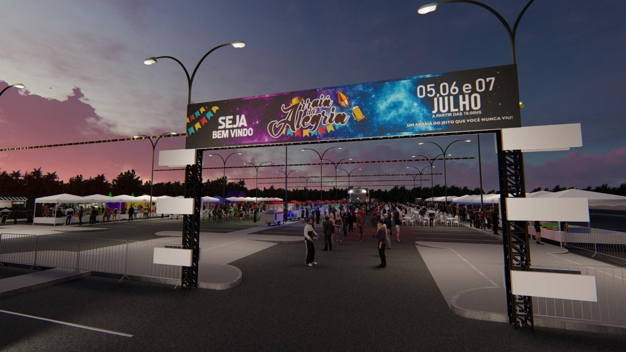 Arraiá da Alegria terá espaço kids diferenciado no Aeroporto de Manaus