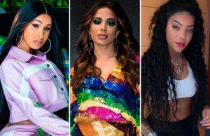 Após seguir as cantoras Anitta e Ludmilla nas redes sociais, a rapper Cardi B aparece em vídeo cantando hit das cantoras, Confira!