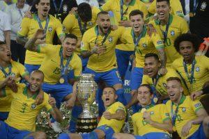 Seleção Brasileira é campeã da Copa América 2019