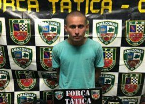 Homem é preso por envolvimento com tráfico de drogas, em Manaus