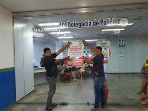 Policiais civis aderem a paralisação geral desta quarta-feira em Manaus