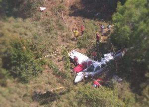 Avião de pequeno porte cai em Autazes e duas vítimas são trazidas à Manaus