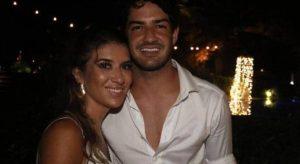Alexandre Pato se casa com a filha de Silvio Santos, Rebeca Abravanel