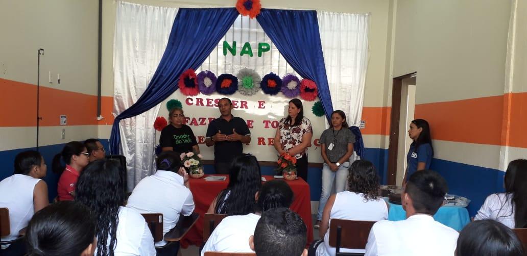 Seap realiza curso de mão de obra no sistema prisional para internos do Compaj e PFM