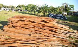 Órgãos buscam soluções para coibir exportação ilegal de madeira, no AM