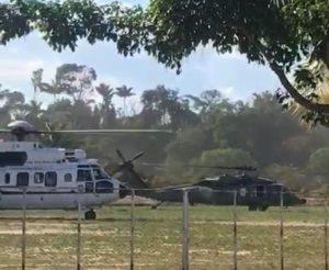 Forte aparato de segurança é montado para visita de Bolsonaro a Manaus