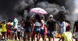 Cerca de quatro dias de apagão e moradores e comerciantes de Iranduba sofrem com prejuízos